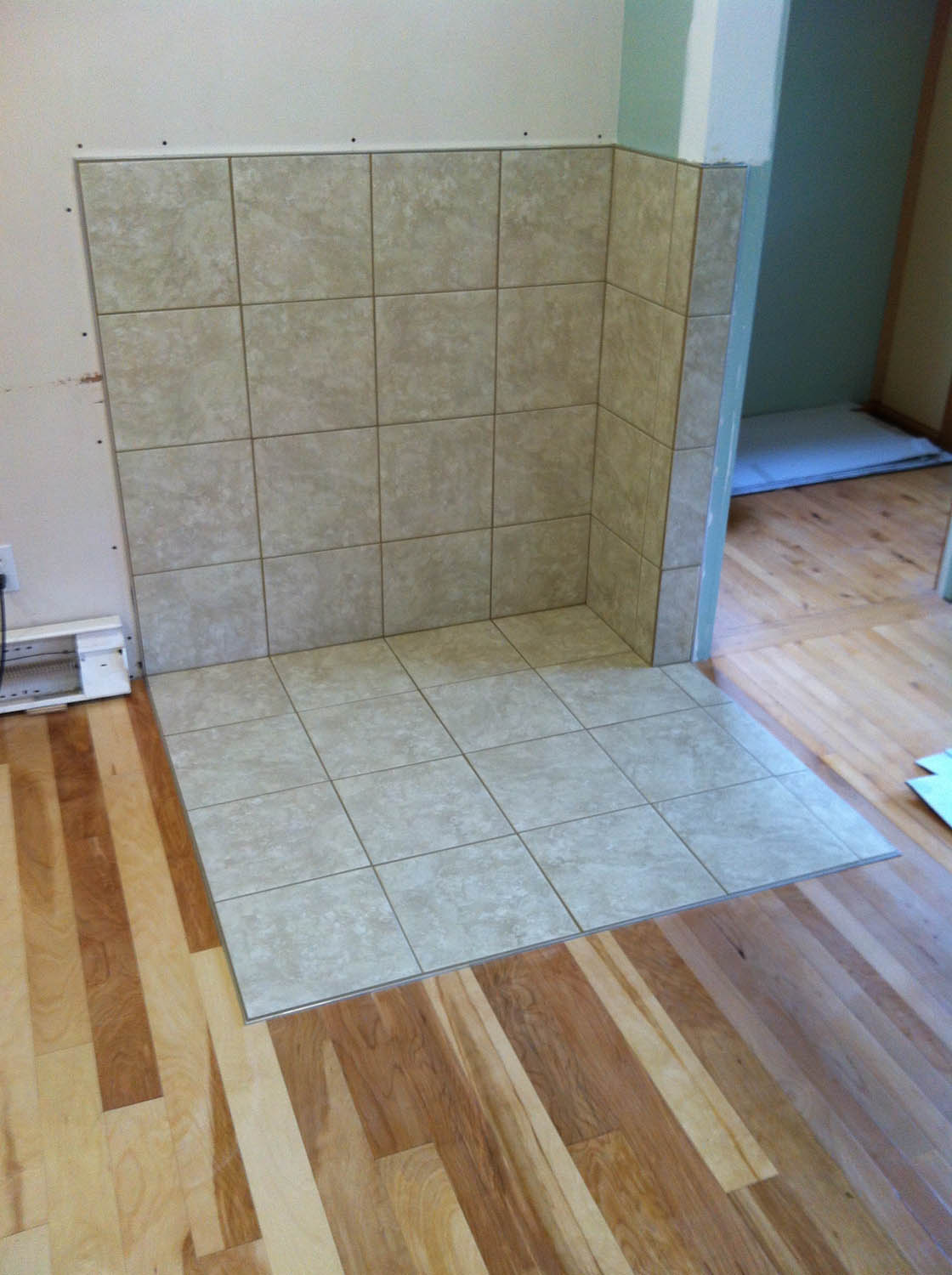 Examples of Tile Setting - Palmer Contracting